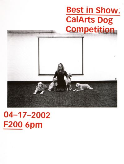 CalArts poster: Best in Show: CalArts Dog Competition by Cassandra Cisneros