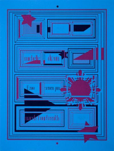 CalArts poster: Michelle Dizon by Amanda Gartman