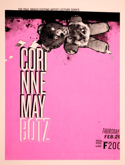 CalArts poster: Corinne May Botz by David Robinson
