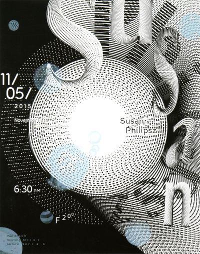 CalArts poster: Susan Philipsz by Jessica Lee Lu Feng Yunji Jun