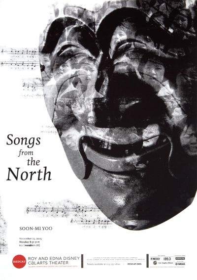 CalArts poster: REDCAT: Songs from the North by Paul Um Sam Jung
