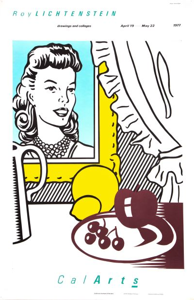 CalArts poster: Roy Lichtenstein by Jayme Odgers by