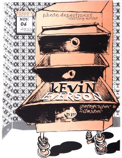 CalArts poster: Kevin Everson by Ana Llorente