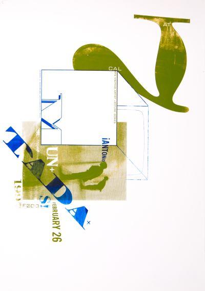 CalArts poster: TADA+ by Amanda Washburn