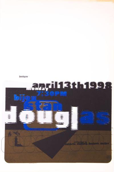 CalArts poster: Stan Douglas by HweeMin Loi