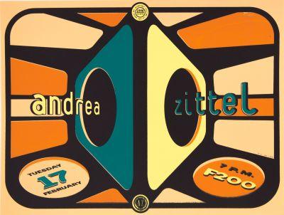 CalArts poster: Andrea Zittel by Jose Allard