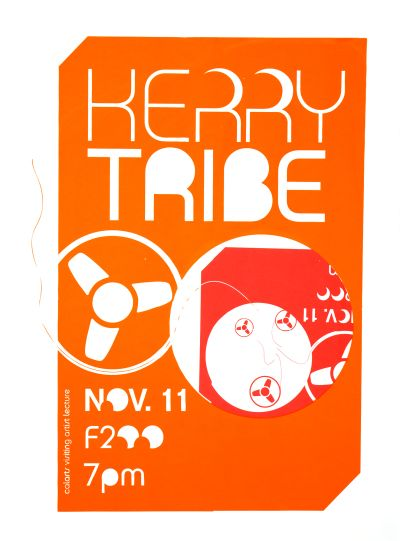 CalArts poster: Kerry Tribe by