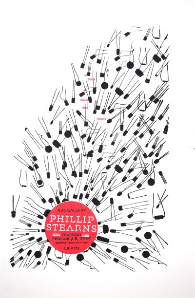 CalArts poster: Phillip Stearns by