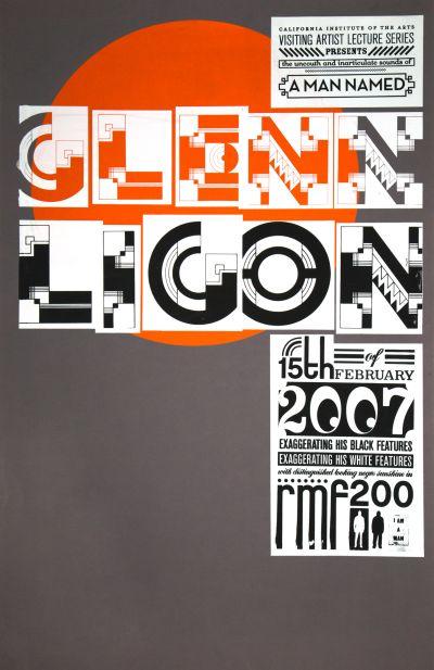 CalArts poster: Glenn Ligon by Jessica D'Elena