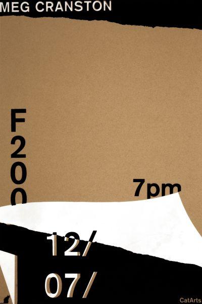 CalArts poster: Meg Cranston by Tanya Rubbak
