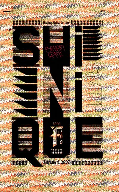 CalArts poster: Shinique Smith by Diego Padilla