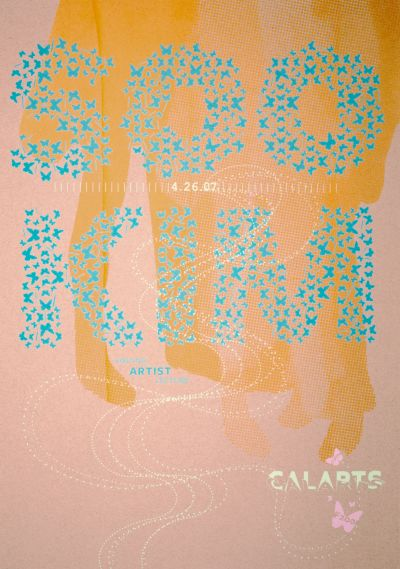 CalArts poster: Soo Kim by Christine Lee