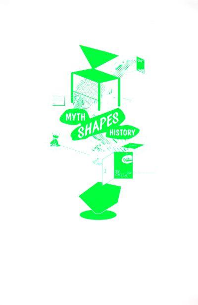 CalArts poster: Ed Fella Farewell Lecture: Myth Shapes History by Masato Nakada