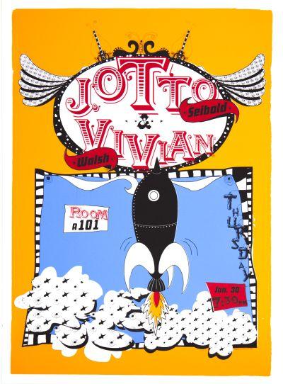 CalArts poster: J Otto Seibold & Vivian Walsh by Jose Allard Lee Schulz
