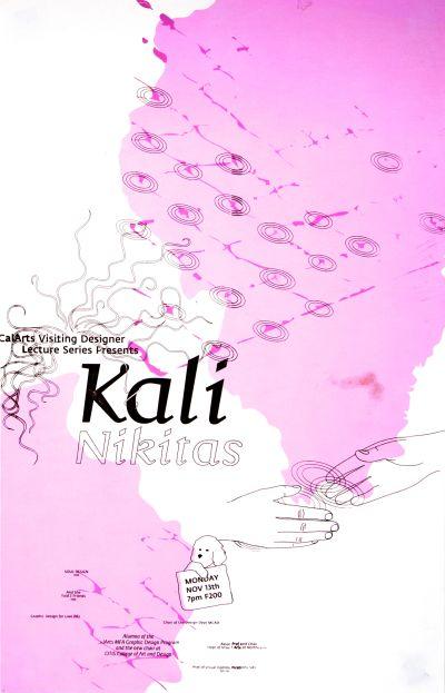 CalArts poster: Kali Nikitas by