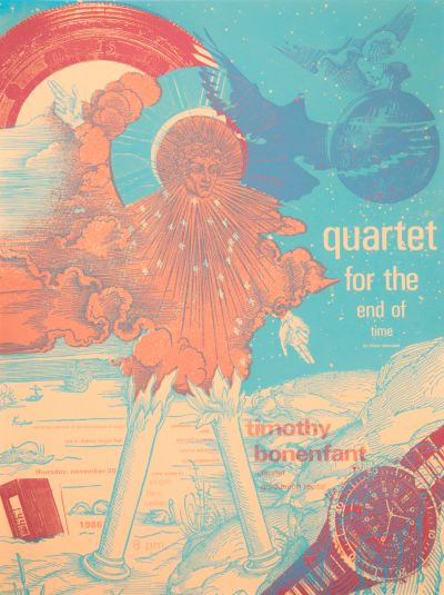 CalArts poster: Quartet for the End of Time by