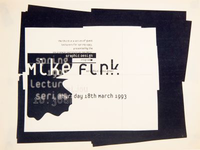 CalArts poster: Mike Fink by Conor Mangat