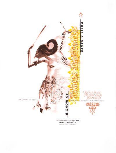 CalArts poster: Balinese And Javanese by
