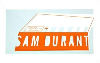 CalArts poster: Sam Durant by Sophie Dobrigkeit