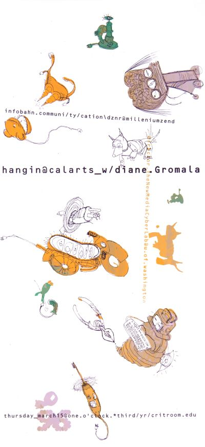 CalArts poster: Diane Gromala by