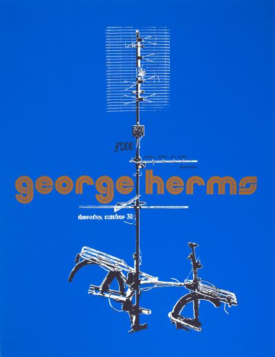 CalArts poster: George Herms by