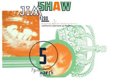 CalArts poster: Jim Shaw by