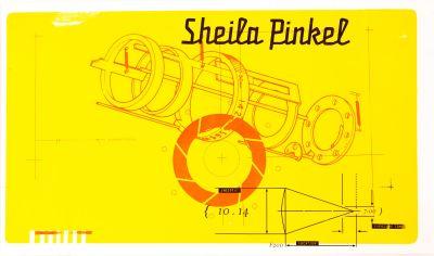 CalArts poster: Sheila Pinkel by Lee Schultz
