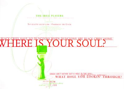 CalArts poster: Where Is Your Soul? by Jim Baehr