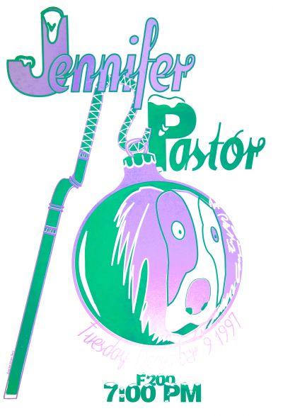 CalArts poster: Jennifer Pastor by Ana Llorente