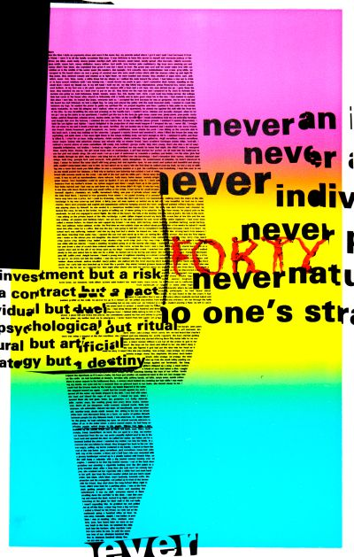 CalArts poster: Never by Denise Gonzales Crisp