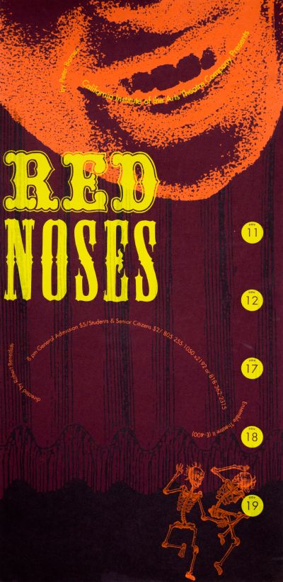 CalArts poster: Red Noses by Barbara Glauber