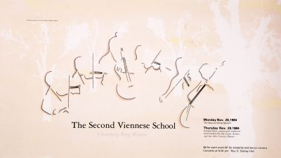 CalArts poster: The Second Viennese School by