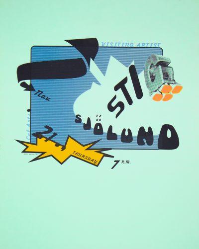 CalArts poster: Stig Sjölund by Bele Ducke