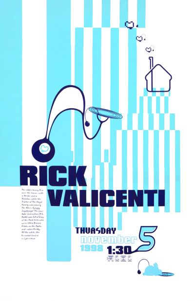 CalArts poster: Rick Valicenti by Snow Kahn
