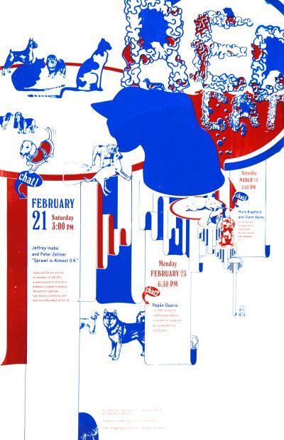 CalArts poster: REDCAT Chats by Mark Kulakoff Victoria Lam