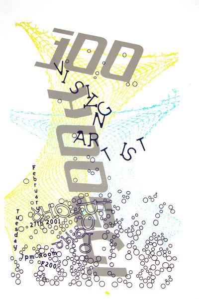 CalArts poster: Insook Joo by Joao Paulo Paiva Karen Hirt