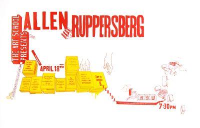 CalArts poster: Allen Ruppersberg by Jon Sueda