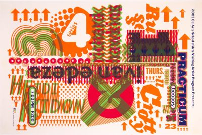 CalArts poster: 2003 Practicum Series 4/6 by Jae-Hyouk Sung Matthew Normand
