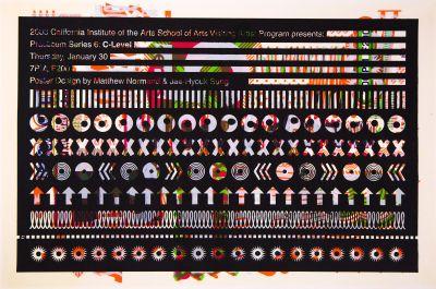 CalArts poster: 2003 Practicum Series 6/6 by Jae-Hyouk Sung Matthew Normand