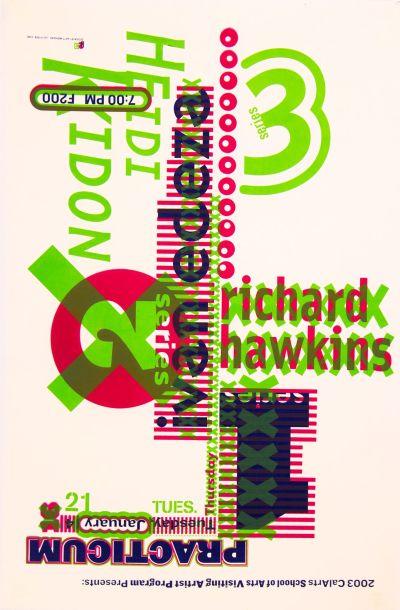 CalArts poster: 2003 Practicum Series 3/6 by Jae-Hyouk Sung Matthew Normand
