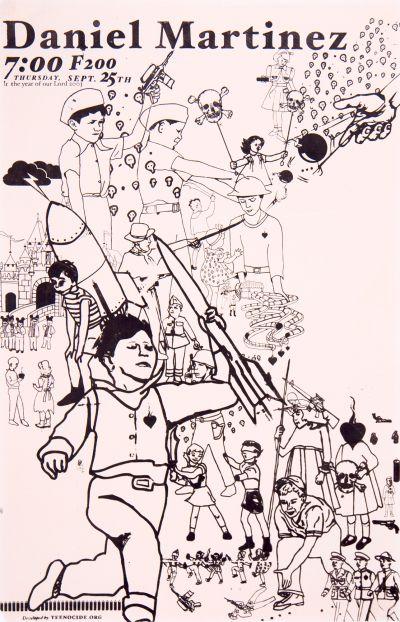 CalArts poster: Daniel Martinez by Mark Kulakoff