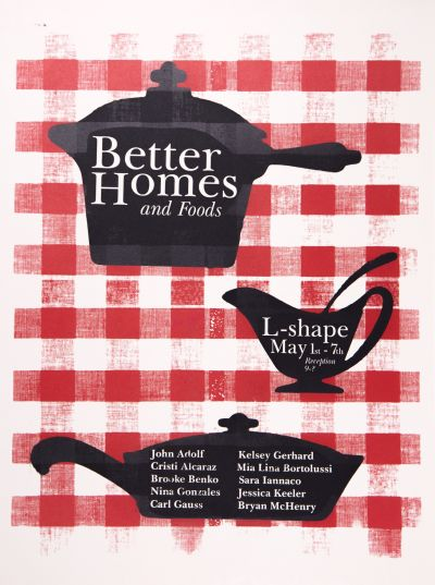 CalArts poster: Better Homes and Foods by