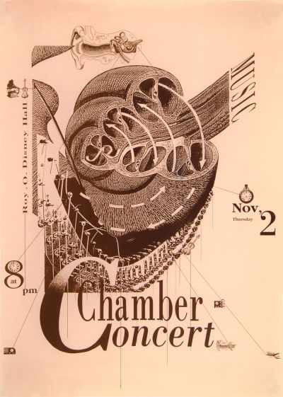 CalArts poster: Chamber Concert by