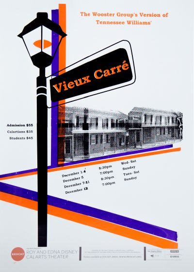 CalArts poster: REDCAT: Vieux Carré by