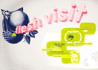 CalArts poster: Flesh Visit by