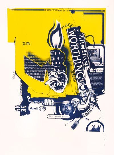 CalArts poster: Michael Worthington by Joseph Monnens