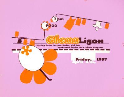 CalArts poster: Glenn Ligon by Bele Ducke