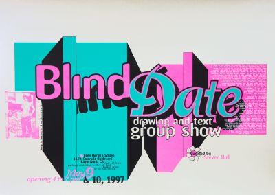 CalArts poster: Blind Date by Ana Llorente HweeMin Loi