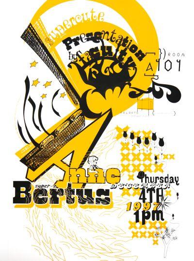 CalArts poster: Anne Bertus by Ana Llorente Andrea Tinnes HweeMin Loi Jose Allard Lee Schulz Pirco Wolfframm