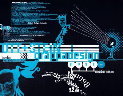 CalArts poster: Ott + Stein & Grappa Design: Post(er) Modernism by Ana Llorente Andrea Tinnes HweeMin Loi Jose Allard Lee Schulz Pirco Wolfframm